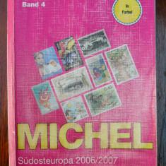 Catalog Michel 2007 vol. 4 Europa de Sud-Est - Romania/Bulgaria/Grecia/Turcia