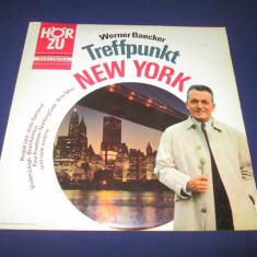 Various - Werner Baecker Treffpunkt New York _ vinyl,LP _ Electrola  (Germania), VINIL
