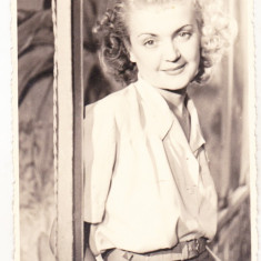 Bnk foto - Fotografie cu autograf Mary Theodorescu - teatru - cinema