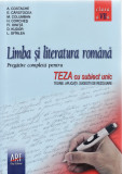 LIMBA SI LITERATURA ROMANA. TEZA CU SUBIECT UNIC CLASA A VII A de A. COSTACHE