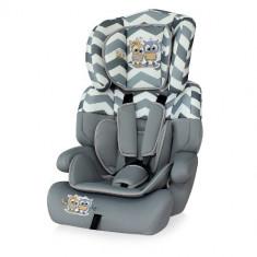 Scaun Auto Junior Plus 9-36 kg 2017 Grey Baby Owls - Inaltator auto