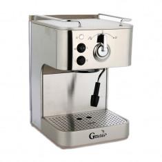 Cafetiera Gustino GS-680, 1.6 l, 1050 W, Argintiu
