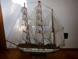 Macheta veche,germana,corabie cu panze,Gorch Fock,model 1933