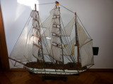 Macheta veche,germana,corabie cu panze,Gorch Fock,model 1933, Alta