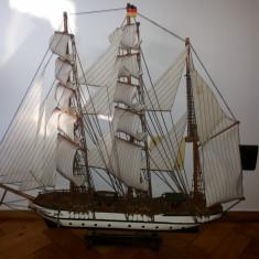 Macheta veche, germana, corabie cu panze, Gorch Fock, model 1933 - Macheta Navala