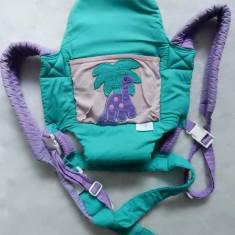 Marsupiu / port bebe Nojo; multiple reglaje + buzunar; impecabil, ca nou - Marsupiu bebelusi, 1-3 ani, Altele