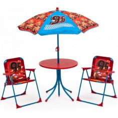 Set camping 4 piese Cars - OKAZIE - Masuta/scaun copii Altele