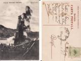 Campina- Prahova -Sonda de petrol, Circulata, Printata