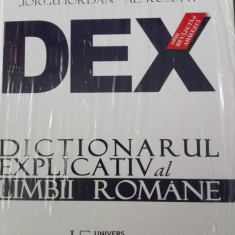 DEX Dictionarul explicativ al limbii romane - editia 2016