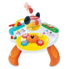 Masuta de activitati Mickey Mouse Kiddieland - Instrumente muzicale copii