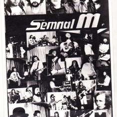 Bnk cp Poza cu autograf si dedicatie Semnal M - 1978