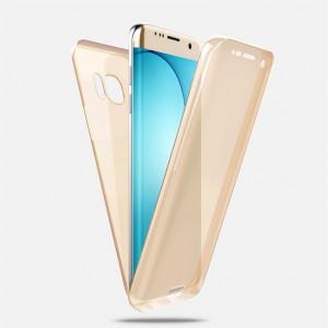Husa silicon 360° protectie fata + spate pentru Samsung Galaxy S7