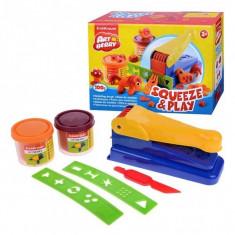 Set plastilina cu forme Squeeze Play, Artberry
