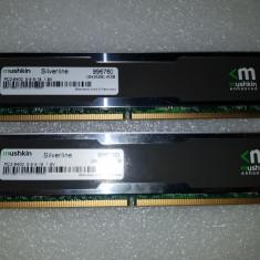 Memorie RAM kit (2 x 2GB) Mushkin Silverline DDR2 SDRAM DDR2 800 - poze reale, 4 GB, 800 mhz, Dual channel