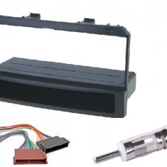 KIT RAMA CADRU AUTO ADAPTOARE FORD FOCUS MONDEO ESCORT ORION FIESTA 1 DIN + ISO - Rama adaptoare