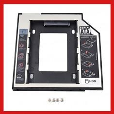 HDD Caddy laptop slim 9.5mm intern SATA extern SATA universal