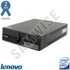 Calculator Lenovo Intel Core2Duo E6300 1.86GHz 2GB DDR2 80GB DVD-RW Garantie !! - Sisteme desktop fara monitor Lenovo, 1501- 2000Mhz, 40-99 GB, LGA775
