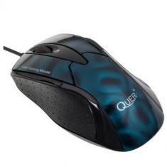 Mouse Quer Gamer Laser Blue, USB