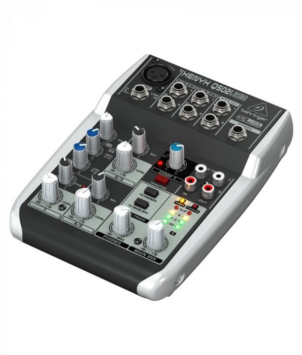 Mixer audio Behringer XENYX Q502USB