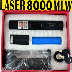 Laser verde pointer 3D green Laser 2 in 1 Raza 11 km seria 303 - Laser pointer
