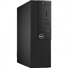 Sistem desktop Dell OptiPlex 3050 SFF Intel Core i3-7100 4GB DDR4 128GB SSD Windows 10 Pro Black - Sisteme desktop fara monitor Dell, 100-199 GB