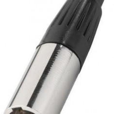 Conector mini XLR tata 4 pini Stage Line XLR-407/P