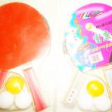 Palete tenis masa ping pong 2 palete 3 mingi - Paleta ping pong