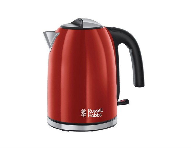 Fierbator Russel Hobbs 20412-70 Colours Plus 2400W 1.7l Flame Red foto mare