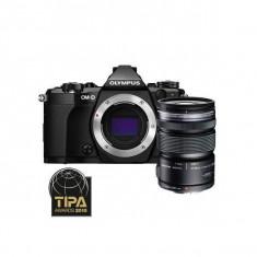 Aparat foto Mirrorless Olympus OM-D E-M5 Mark II 16 Mpx Black Kit 12-50mm