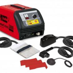 Aparat de incalzire pentru tinichigerie cu inductie Telwin SMART INDUCTOR 5000 230 V Clasic+Acc Rosu