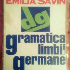 Gramatica limbii germane - Emilia Savin - Curs Limba Germana Altele