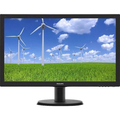 Monitor LED Philips 243S5LSB5/00 24 inch 5ms Black foto