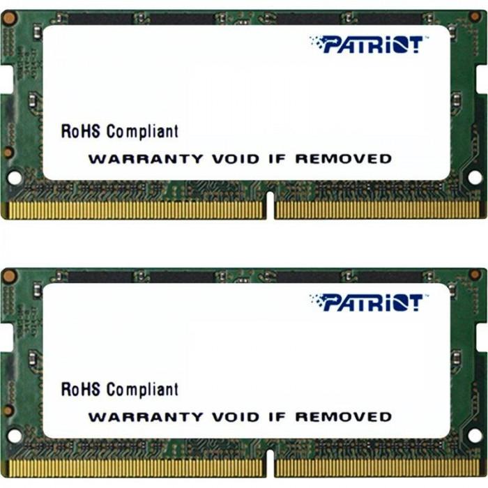 Memorie laptop Patriot Signature 32GB DDR4 2133 MHz CL15 Dual Channel Kit foto mare