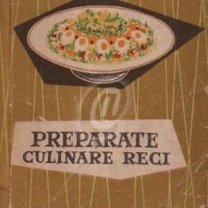 Preparate culinare reci (1960) - Carte Retete culinare internationale