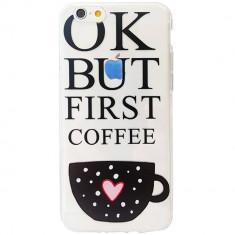 Husa Protectie Spate Star AMACOFFEE_S8 Morning Coffee pentru SAMSUNG Galaxy S8 Plus