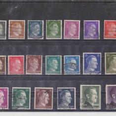 TSV - GERMANIA - REICH - 1941 – HITLER, Oameni, Stampilat
