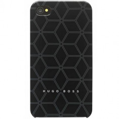 Husa Protectie Spate Hugo Boss 10741 Tangent Negru pentru APPLE iPhone 4s