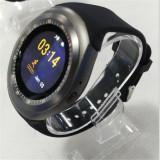 Smartwatch Y01 / SIM / factura+garantie, Alte materiale, Argintiu, Android Wear