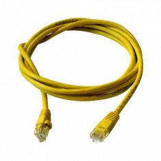 Cablu UTP ART OEM Patchcord Cat 5e 1m Galben