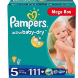 Scutece PAMPERS 5 Active Baby 11-25kg 111buc