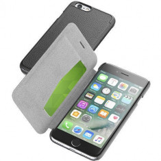 Husa Flip Cover Cellularline BOOKESSIPH747K Agenda Essential Negru pentru Apple iPhone 7 - Husa Telefon
