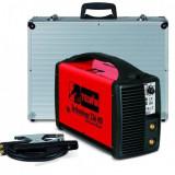 Aparat de sudura Telwin TECHNOLOGY 236 HD Invertor 230V ACX+ALU C.CASE Rosu - Invertor sudura