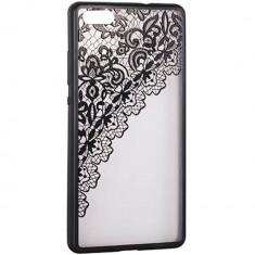 Husa Protectie Spate Star Lace Design 2 Black pentru Samsung Galaxy S8 Plus