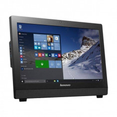 Sistem All in One Lenovo S200z 10K4002KRI 19.5 inch LED Intel Celeron J3060 4GB HDD 500GB Windows 10 Pro Black - Sisteme desktop cu monitor