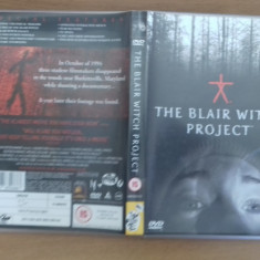 The Blair Witch Project - DVD [B] - Film SF, Engleza