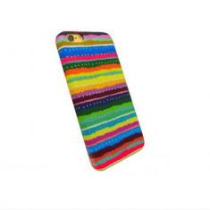 Husa Protectie Spate Serioux Textil model 05 pentru Apple iPhone 6 - Husa Telefon Serioux, iPhone 6/6S