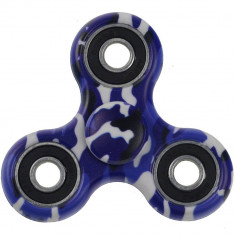 Jucarie antistres Star Camouflage Fidget Spinner Blue