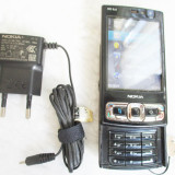 Telefon Nokia N95 8G necodat cu incarcator, Negru, 8GB, Neblocat