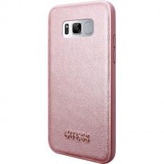 Husa Protectie Spate Guess GUHCS8IGLRG Roz pentru SAMSUNG Galaxy S8 - Husa Telefon