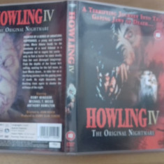 HOWLING IV - The original nightmare - DVD [B] - Film SF, Engleza